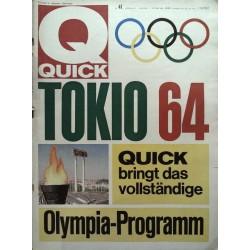 Quick Heft Nr.41 / 11 Oktober 1964 - Tokio 64