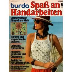 burda Spaß an Handarbeiten 6/Juni 1978 - Trägerbluse