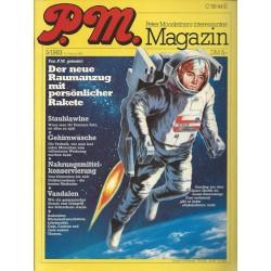 P.M. Ausgabe März 3/1983 - Der neue Raumanzug mit persönlicher Rakete