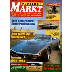 Oldtimer Markt Heft 4/April 1993 - Corvette 1968 bis 1982