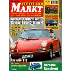 Oldtimer Markt Heft 5/Mai 1994 - Porsche 912