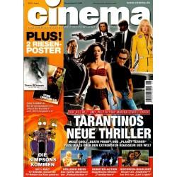 CINEMA 8/07 August 2007 - Tarantinos neue Thriller