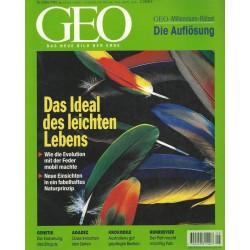 Geo Nr. 5 / Mai 1999 - Das Ideal des leichten Lebens