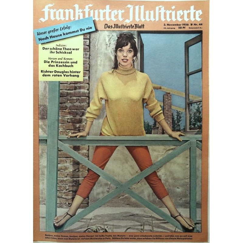 Frankfurter Illustrierte Nr.44 / 3 November 1956 - Yvette