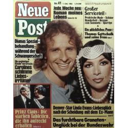 Neue Post Nr.41 / 7 Okt. 1983 - Thomas Gottschalk & seine Frau
