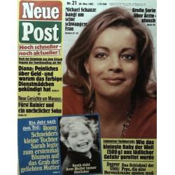 Neue Post Nr.21 / 20 Mai 1983 - Romy Schneider