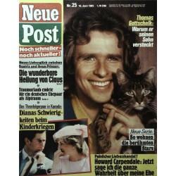 Neue Post Nr.25 / 16 Juni 1983 - Thomas Gottschalk