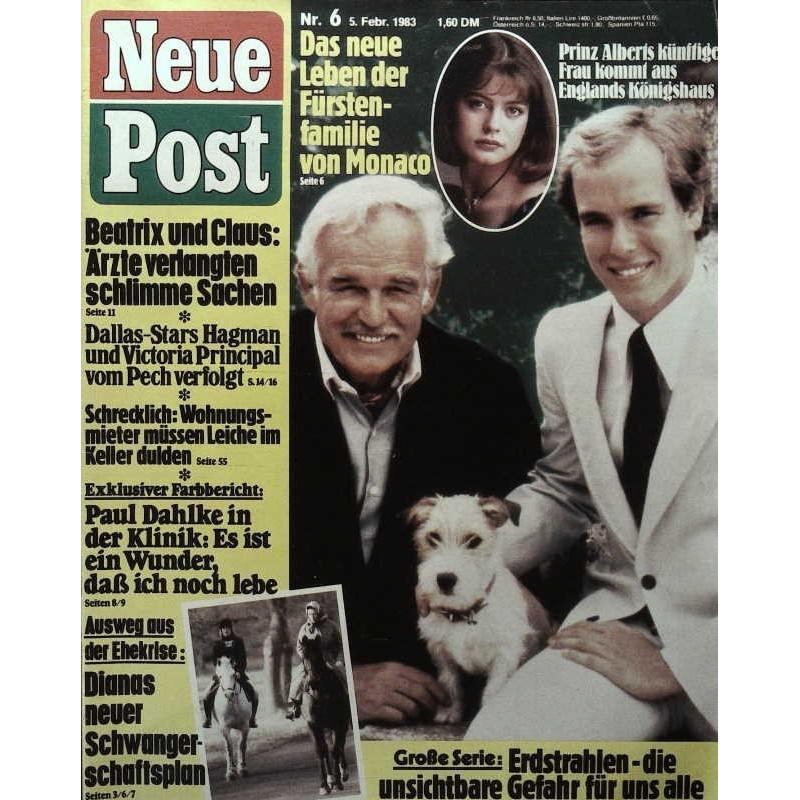 Neue Post Nr.6 / 5 Februar 1983 - Fürstenfamilie von Monaco