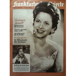 Frankfurter Illustrierte Nr.3 / 21 Januar 1956 - Hertha Feiler