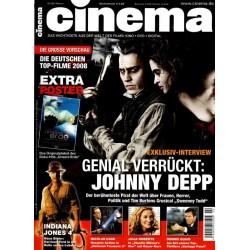 CINEMA 2/08 Februar 2008 - Johnny Depp