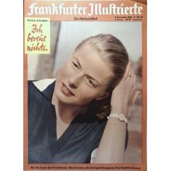 Frankfurter Illustrierte Nr.49 / 8 Dezember 1956 - Ingrid Bergmann