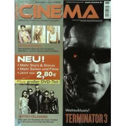 CINEMA 6/03 Juni 2003 - Terminator 3