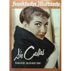 Frankfurter Illustrierte Nr.23 / 6 Juni 1959 - Die Callas