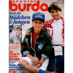 burda Special 2/1992 - Mode für Mädchen & Jungen