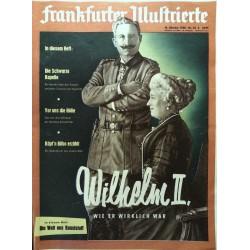 Frankfurter Illustrierte Nr.42 / 18 Oktober 1958 - Wilhelm II