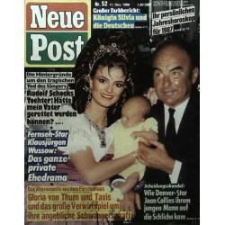 Neue Post Nr.52 / 17 Dezember 1986 - Gloria von Thurn & Taxis