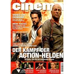 CINEMA 3/07 März 2007 - Der Kampf der Action-Helden