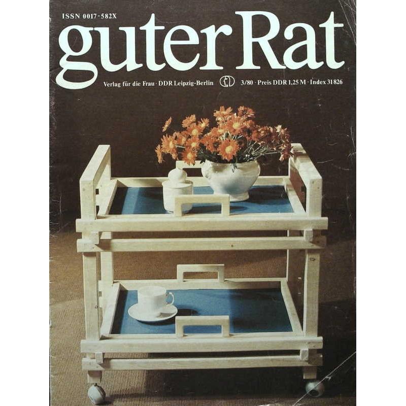 Guter Rat 3/1980 - Servierwagen
