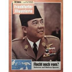 Frankfurter Illustrierte Nr.3 / 21 Januar 1962 - Sukarno