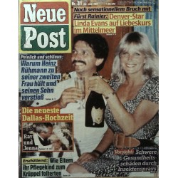 Neue Post Nr.31 / 24 Juli 1987 - Linda Evans auf Liebeskurs