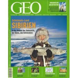 Geo Nr. 2 / Februar 2005 - Schiksals-Land Sibirien