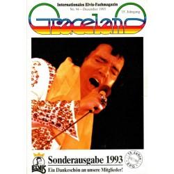 Graceland Nr.94 Dezember 1993 - Sonderausgabe
