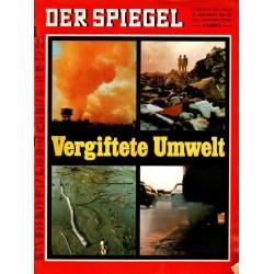 Der Spiegel Nr.41 / 5 Oktober 1970 - Vergiftete Umwelt