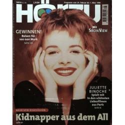 HÖRZU 8 / 24 Feb. bis 1 März 1996 - Juliette Binoche