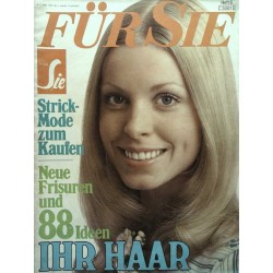 Für Sie Heft 6 / 10 März 1972 - Ihr Haar