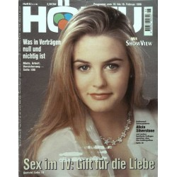 HÖRZU 6 / 10 bis 16 Februar 1996 - Alicia Silverstone