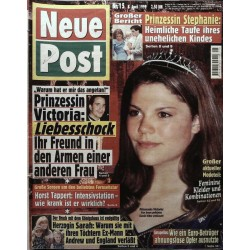 Neue Post Nr.15 / 8 April 1999 - Prinzessin Victoria