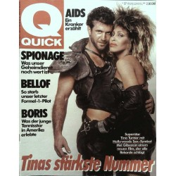 Quick Nr.37 / 5 September 1985 - Tinas stärkste Nummer