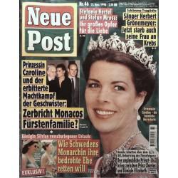 Neue Post Nr.46 / 12 November 1998 - Prinzessin Caroline