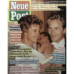 Neue Post Nr.33 / 11 August 1989 - Don Johnson & Frau