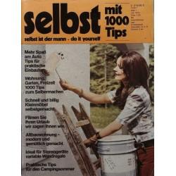Selbst ist der Mann 7/72 Juli 1972 - Mit 1000 Tips