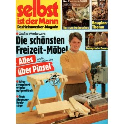 Selbst ist der Mann 5/85 Mai 1985 - Freizeit Möbel