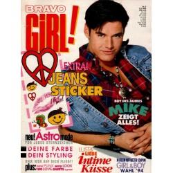 Bravo Girl Nr.6 / 9 März 1994 - Mike Boy des Jahres