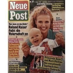 Neue Post Nr.37 / 8 September 1989 - Kathi Böhm