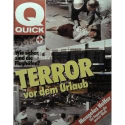 Quick Nr.27 / 27 Juni 1985 - Terror vor dem Urlaub