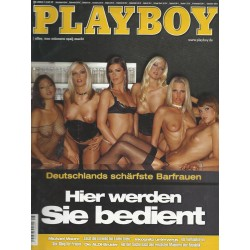 Playboy Nr.8 / August 2004 - Gabriele Münster, Anja Thron ...