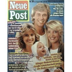 Neue Post Nr.35 / 25 August 1989 - Roland Kaiser