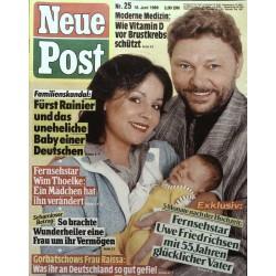 Neue Post Nr.25 / 16 Juni 1989 - Uwe Friedrichsen