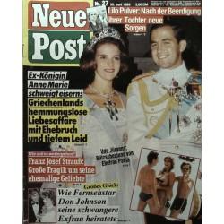 Neue Post Nr.27 / 30 Juni 1989 - Königin Anne Marie