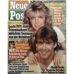 Neue Post Nr.26 / 23 Juni 1989 - Sascha Hehn