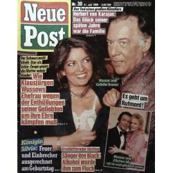 Neue Post Nr.30 / 21 Juli 1989 - Wussow & Geliebte Yvonne