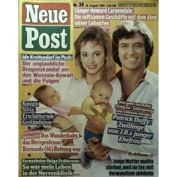 Neue Post Nr.34 / 18 August 1989 - Patrick Duffy