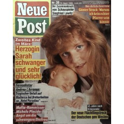 Neue Post Nr.38 / 15 September 1989 - Herzogin Sarah