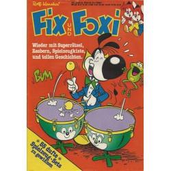 Fix und Foxi 28 Jahrg. Band 21 / 1980 - Wieder mit Superrätsel ...