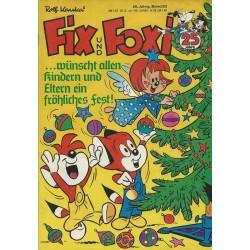 Fix und Foxi 25 Jahrg. Band 53 / 1977 - ... wünscht allen Kindern und Eltern ein frohes Fest