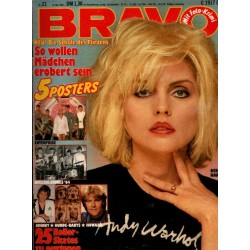 BRAVO Nr.21 / 14 Mai 1980 - Debbie Harry